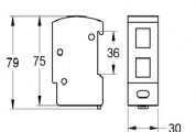 Thiết bị cắt lọc sét đường mạng CPR_RSP_LG45